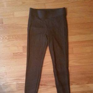 Ann taylor brown dressy legging pant stretch soft